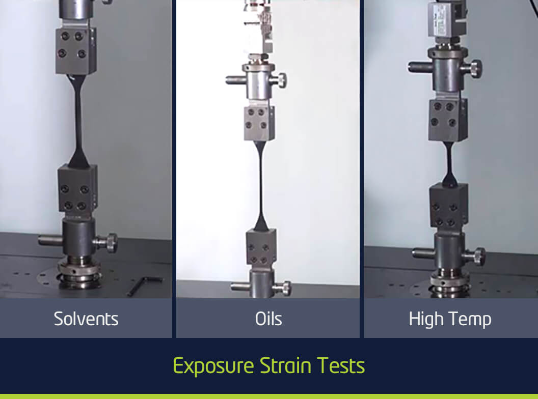 Exposure strain tests